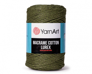 Macrame Cotton Lurex 4 x 250 g